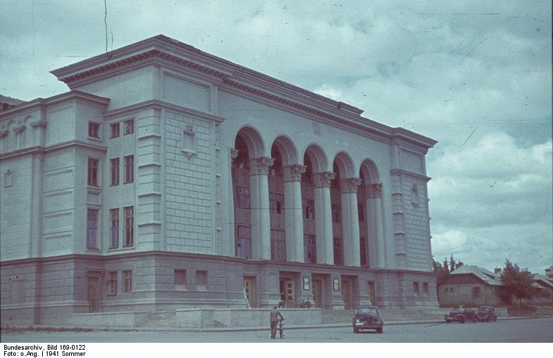 1941年夏,ウクライナの中心地キエフ中央駅: